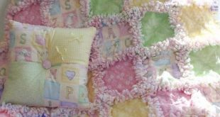 Baby Rag Quilt With Easy Video Tutorial