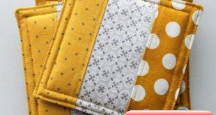 Do Not Throw Your Old Fabrics! With These Minus Fabrics You Can Add Color to Your Snack Tables
