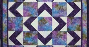 Easy Christmas Quilt Block Pattern | Easy quick baby quilt or easy lap quilt pro...