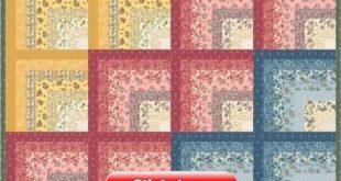Floral Splendor Quilt - Free Pattern (Beautiful Skills - Crochet Knitting Quilting)