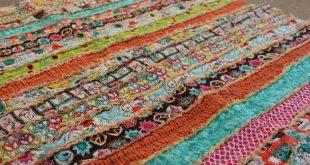 How to Make a Fabric Strip Rag Quilt