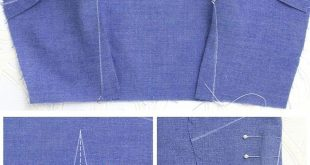 Learn all about sewing darts to give your clothing and bags a 3 dimensional shap...