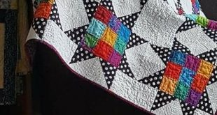 Love this quilt and the vibrant colors ! sewwithlisa.com