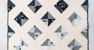 Modern Quilt Pattern #babyquilt #modernquilt #quilts
