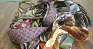 Necktie quilt instructions one
