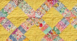 Sew Darn Inspiring! 1930's vintage seed cloth quilt ✨ Getting some good id...