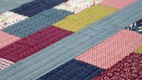 Simple Bricks free quilt pattern + Wonder Full fabric