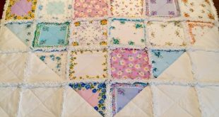The stories behind the rag quilts and other fluffy things I make