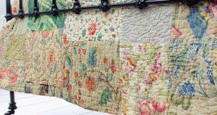 Vintage Home Shop - Beautiful 1920s Welsh Patchwork Quilt: www.vintage-home....