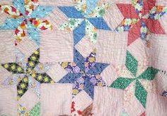 Vintage Quilt Patterns   Flour Sack Mama: Vintage Star Quilt