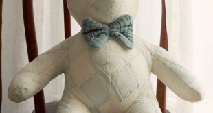 Vintage Quilted Bear country nursery by TheHeirloomShoppe on Etsy, $45.00