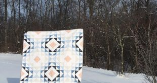 Diamond Ripples Quilt Pattern - PDF