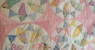 Don't know the pattern of this vintage quilt, but I love it