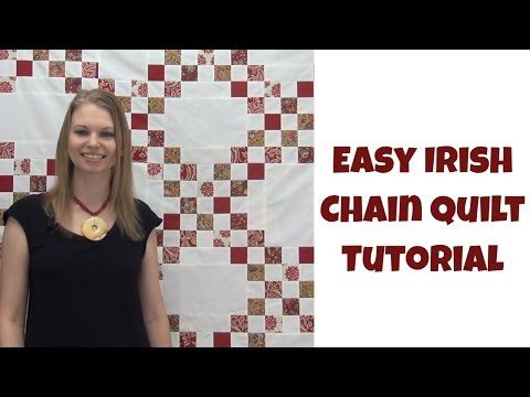 How To Make An Easy Irish Chain Quilt Beginner Quilting