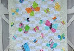 Silly Shabby Butterflies Quilt