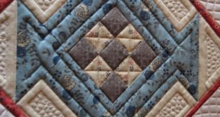 Threads on the floor: Mary's Quilt Check out the quilting on all the other b...