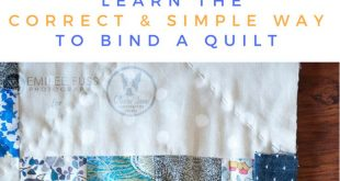 Your quilt deserves a perfect finish! Use this full step by step tutorial to lea...