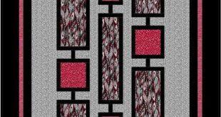 Zentangled Garden: A Modern Quilt Design