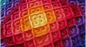 Zig Zag Crochet Blanket Pattern for beginners. - Patterns for Beginners