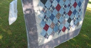 jean and flannel quilt - Google Search