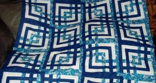 Carpenter's Square, or some call it a version of the Labyrinth quilt.