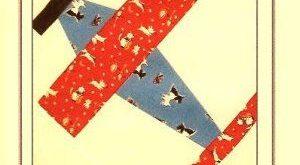 Free Airplane Quilt Pattern | Airplane Quilt Block Pattern - Grandma's Attic...