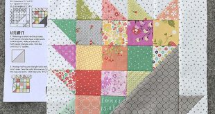 Happy Scrappy Baskets Quilt {a new quilt pattern} (Coriander Quilts)