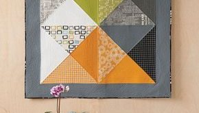 Hourglass Wall Quilt Pattern Download