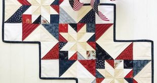 Star Quilt Patterns PDF Patriotic Quilt Pattern Table Runner Pattern Christmas Quilt Pattern Fall Qu