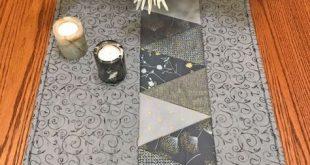 Table Runner - Triangles - #Runner #saving #Table #Triangles
