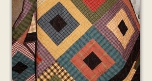 Vibrant Plaids are Stunning in This Easy Quilt