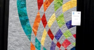 'Curves of Color' ...can't make out the quilter's name on the la...