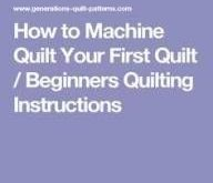 51 New Ideas For Quilting Ideas Machine