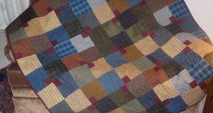 Appomattox - pattern by Amy Walsh - Blue Underground Studios - fabric is Buggy B...