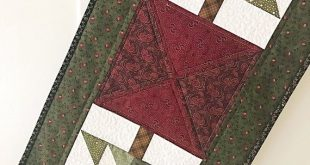 Christmas Quilt Patterns PDF Table Runner Patterns Primitive Quilt Pattern Winter Quilt Pattern Easy Quilt Patterns Beginner Quilt
