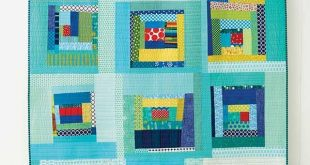 Improvisational piecing is an effective technique for creating a group quilt. Th...