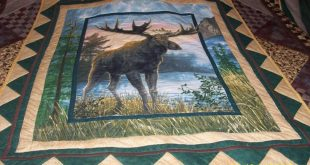 King Size Moose Quilt | Quilts | Pinterest | Moose quilt ...