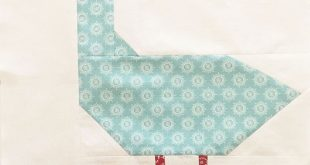 My Farm Girl Vintage quilt just wasn't complete without a Duck block! Lori H...