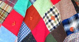 Vintage Block Quilt Vintage Quilt 1950's Quilt Reversible Quilt Vintage   20...
