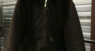 (eBay Sponsored) MENS 2XL - Vtg Carhartt J130 Sandstone Flannel Quilt Lined Ranc...