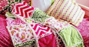 35+ Ideas Sewing Baby Blankets Flannels Rag Quilt Tutorials For 2019