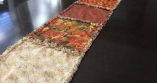 55 Ideas Rag Quilting For Beginners Table Runners