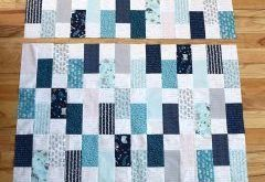 Bricks Baby Quilt Tutorial (Diary of a Quilter)