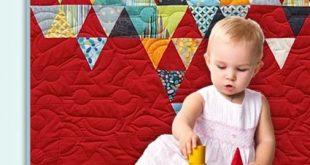 Child's Play--red is such a great choice for this quilt!