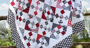 Choose a Beautiful Layer Cake for This Easy Quilt