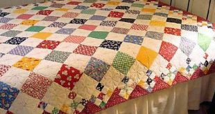 Diamond Patch Quilt Pattern Comes in 3 Sizes