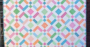 Double Up Quilt Pattern PDF, 5 sizes in Baby, Lap, Twin, Queen, King, Fat Quarter Friendly, Quick Easy Beginner Quilt, Strip Piecing