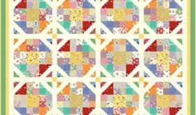Download Free Pattern Aunt Grace's Garden by Marcus Fabrics. Free Sewing and...