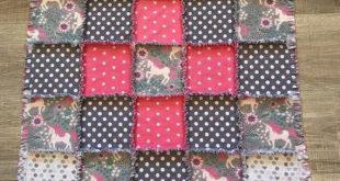 Flannel quilt, Flannel blanket, Flannel fabric, Baby blanket, Crib nursery, Baby girl bedding, Baby gift, Unicorn Pink gray, flower, hearts