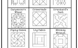 Freedom Quilt Pattern Research and Art Activity